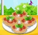 Bánh tart dâu tây