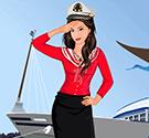 Nữ thủy thủ xinh đẹp
