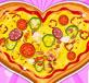 Bánh pizza trái tim