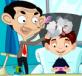 Mr Bean cắt tóc