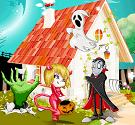 Trang trí nhà Halloween