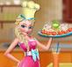 Elsa nấu Alfredo gà