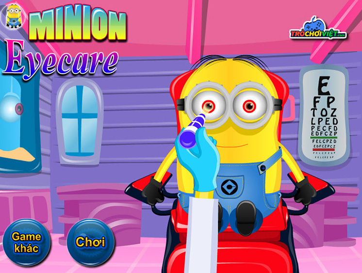 Game khám mắt cho Minion hình ảnh 1