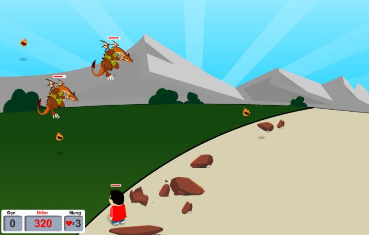Game tiêu diệt rồng lửa hình ảnh 2