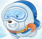 Gấu Bob lên mây
