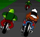 Gấu Po đua xe