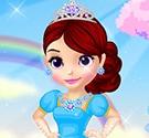 Thời trang váy cưới công chúa Sofia