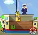 Xếp hàng lên tàu