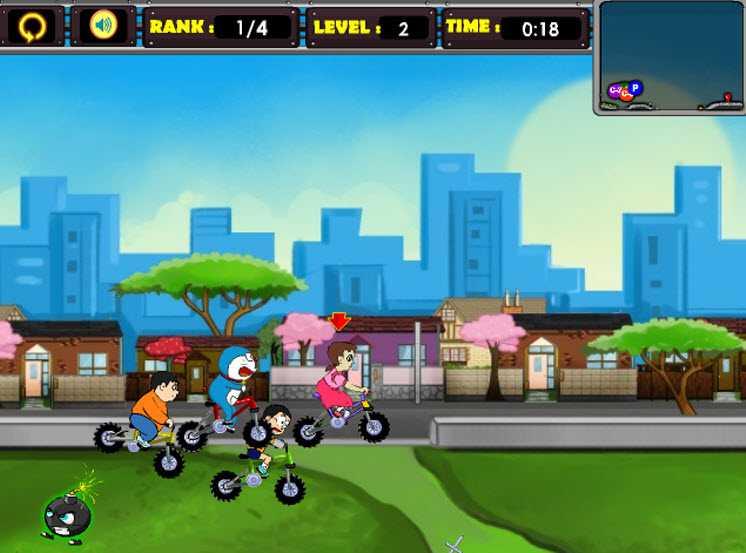 game-doremon-dua-xe-hinh-anh-3