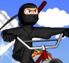 Ninja biểu diễn BMX
