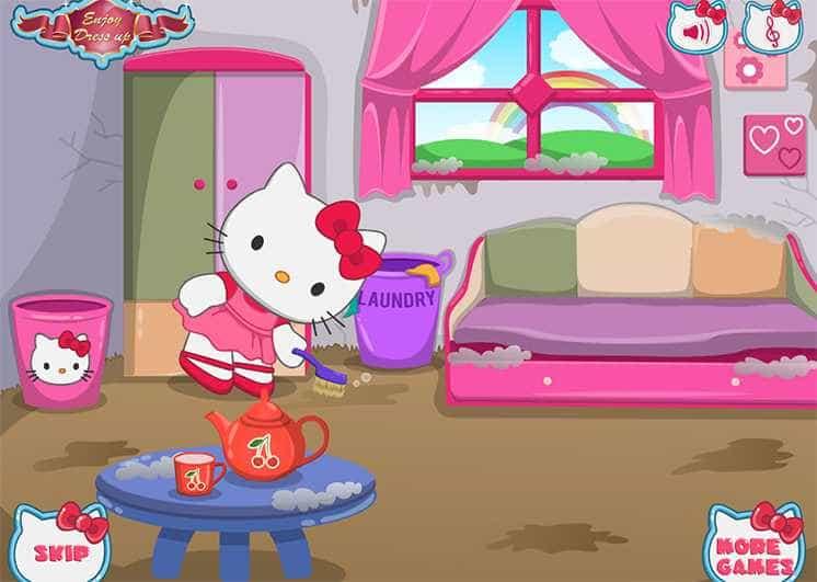 game-meo-kitty-don-nha-hinh-anh-2