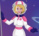 Barbie bay lên vũ trụ