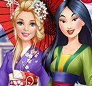 game-barbie-den-tham-hoa-moc-lan