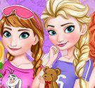 Bữa tiệc pijama của Elsa