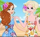 Kỳ nghỉ nhiệt đới của Anna và Elsa