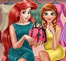 Phòng thay đồ của Anna và Ariel