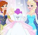 Thiết kế váy cưới băng giá