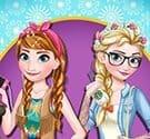 Thời trang chị em Elsa