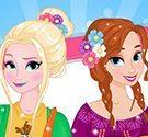 Thời trang mùa xuân Anna và Elsa