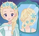 Thời trang tóc Elsa