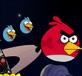 AngryBird du ngoạn không gian