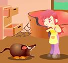 Nữ sinh diệt chuột