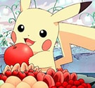Pikachu hoa quả