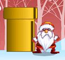 Santa Claus gom quà