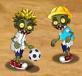 Zombie đá bóng