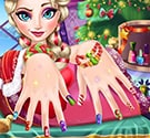 Elsa làm móng