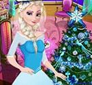 Elsa trang trí giáng sinh