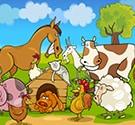 Ghép tranh nông trại