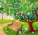 Trang trí công viên