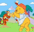 game-bong-chay-gau-pooh
