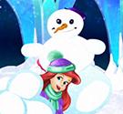 Công chúa ném bóng tuyết