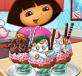 Dora trang trí bánh
