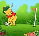 game-gau-pooh-danh-golf