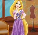 Rapunzel làm móng chân