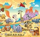 Ghép tranh động vật