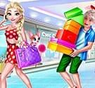 Elsa đi mua sắm