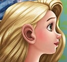 Rapunzel khám tai