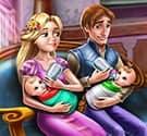 Gia đình công chúa Rapunzel