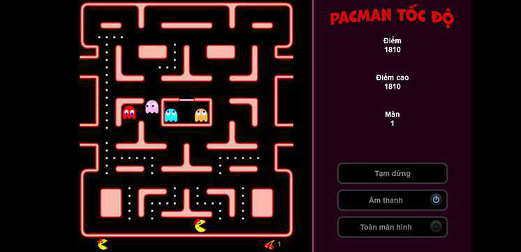 Game-pacman-toc-do-hinh-anh-2