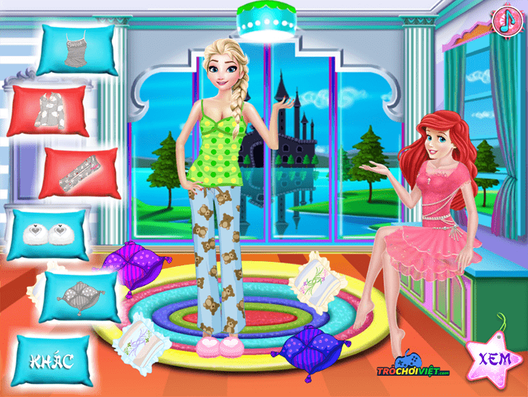 Game-bua-tiec-pijama-princess-pijama-party-hinh-anh-1
