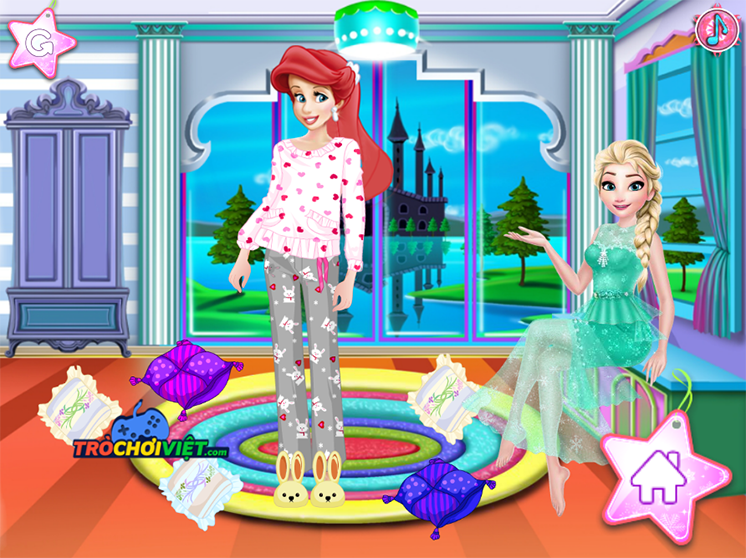 Game-bua-tiec-pijama-princess-pijama-party-hinh-anh-3