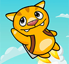 Mèo con bay lượn – Flying Cat