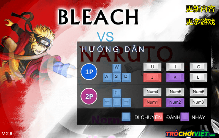 game bleach vs naruto 2.6 hinh anh 2
