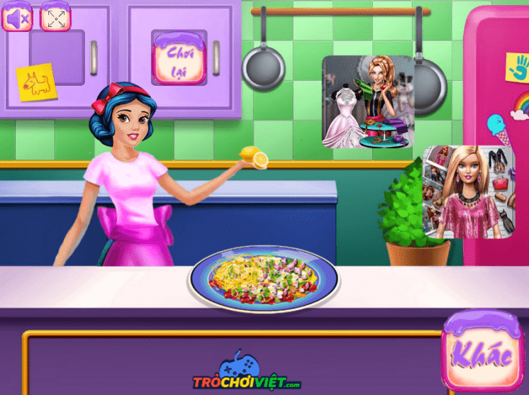 game-cong-chua-lam-salad-princess-fitness-diet-hinh-anh-3