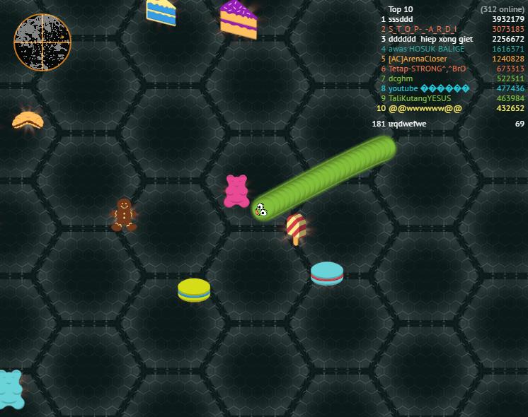 game Slither.io 2 - ran san moi 2017 hinh anh 2