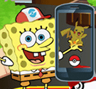 Spongebob bắt Pokemon